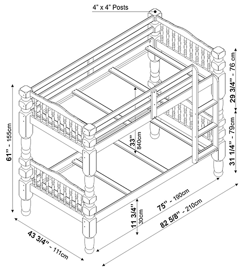 Assembly Instructions Click Here Dakota Bunk Bed With Drawers