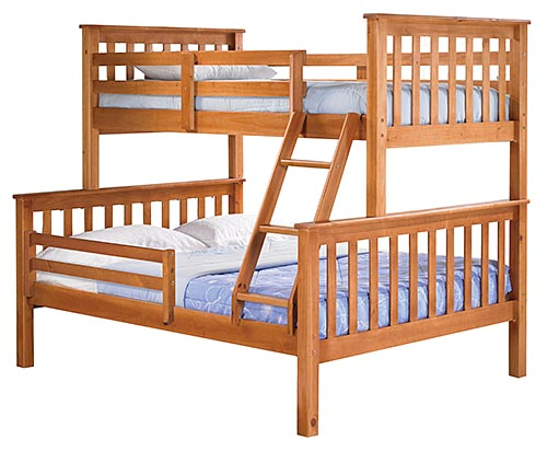 Mission Bunk Bed With Drawers